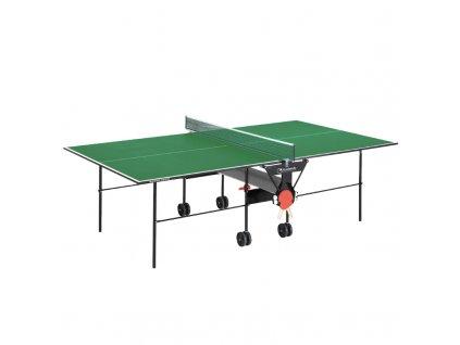 Vnitřní stůl na stolní tenis GARLANDO Training Indoor zelená