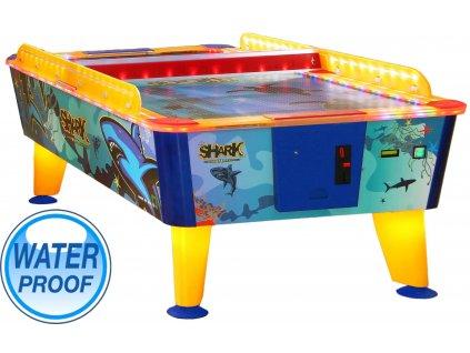 Buffalo Shark Outdoor 8 ft - Vzdušný hokej s mincovníkem