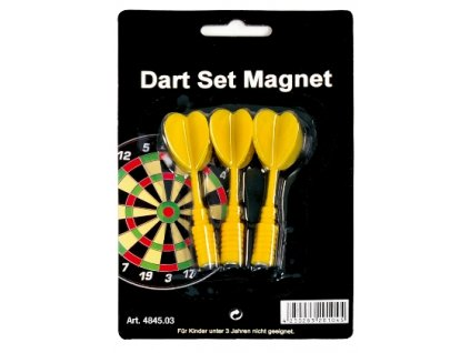 Magnetické šipky Karella - žluté