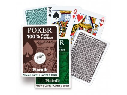 Piatnik Poker - 100% PLASTIC