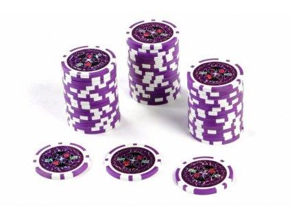 Kusový žeton na poker design Ultimate hodnota 500 - 50ks