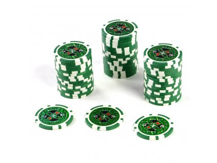 Kusový žeton na poker design Ultimate hodnota 25 - 50ks
