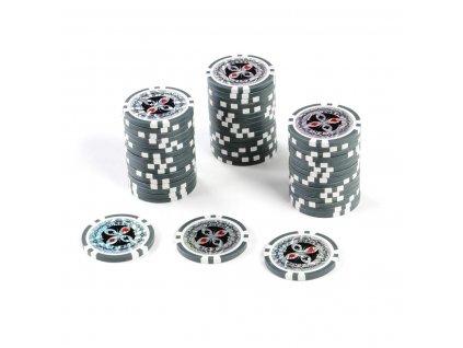 Kusový žeton na poker design Ultimate hodnota 1 - 50ks