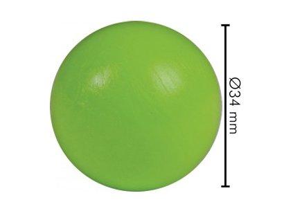 Míček na stolní fotbal tvrdý zelený