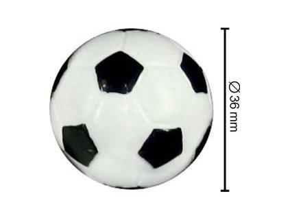 Míček černo-bílý Ø36 mm