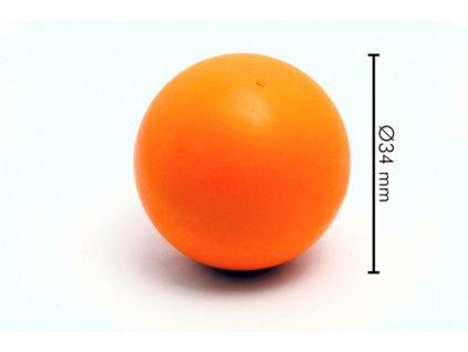 Míček tvrdý Oranž