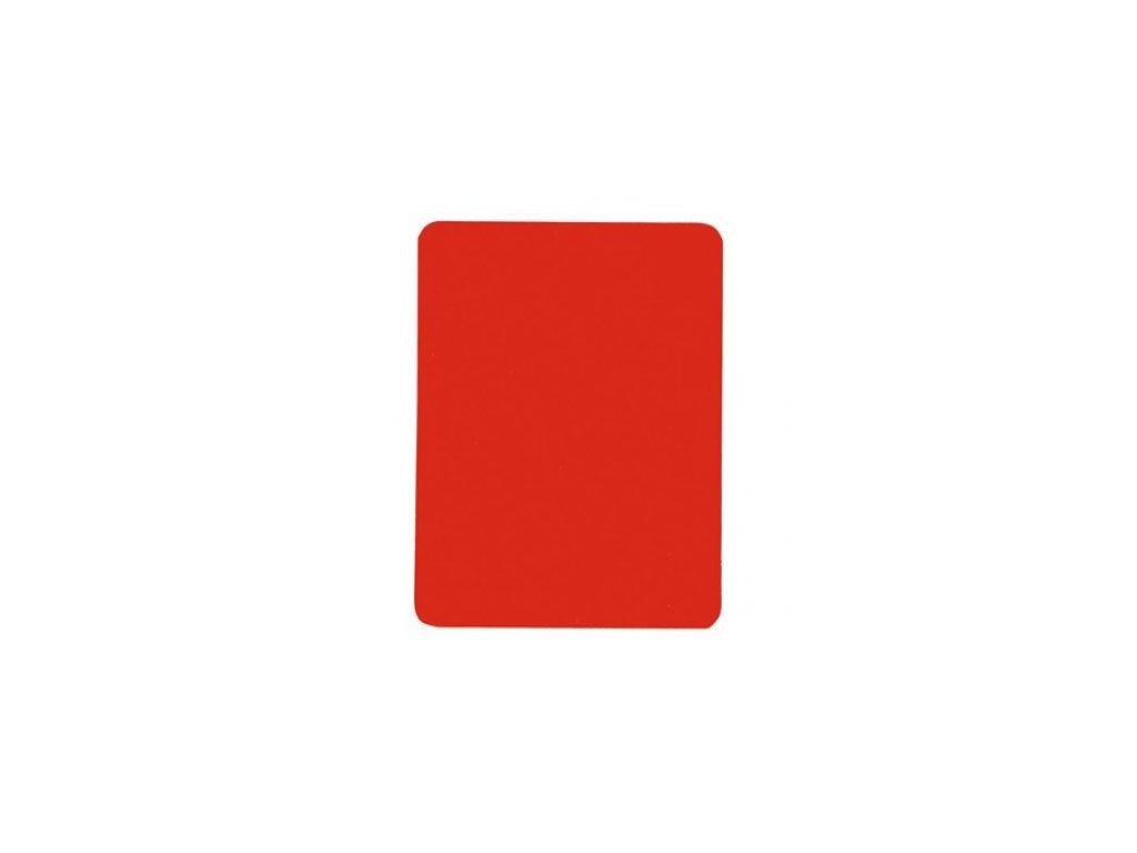 Karta červená