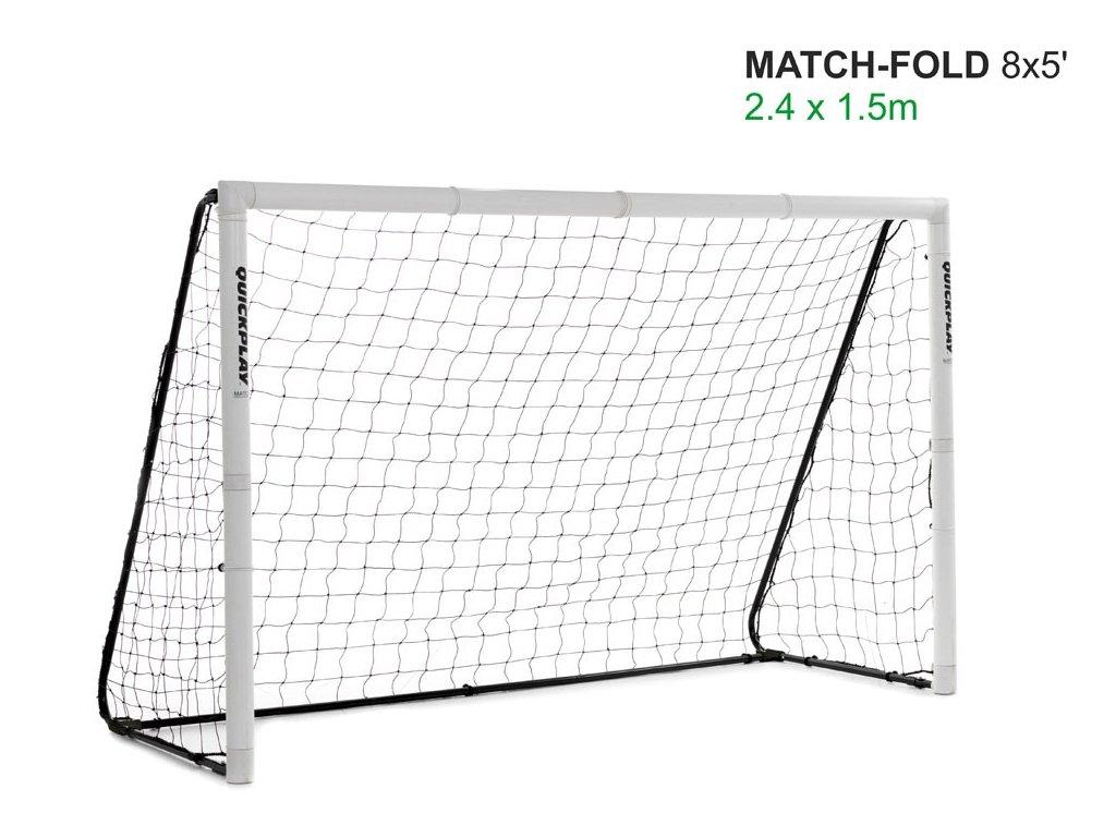 Rozkládací branka Match Goal 2,44x1,52 m