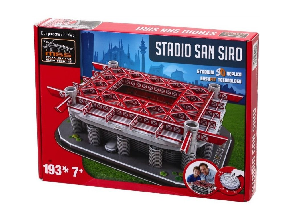 3D PUZZLE  ITALY - San Siro (Milan's packaging)