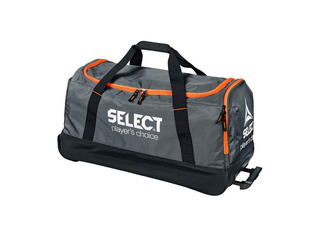 Sportovní taška Select Teambag Verona with wheels šedivá