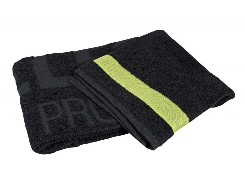 Ručník Select Towel II zeleno černá