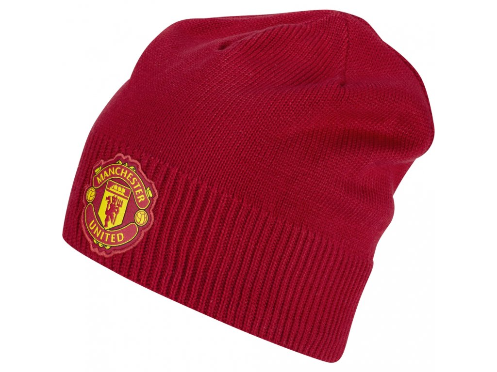 S95091 Zimní čepice Adidas Beanie MUFC