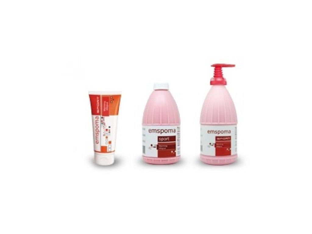 Emspoma růžová - hřejivá 950 ml