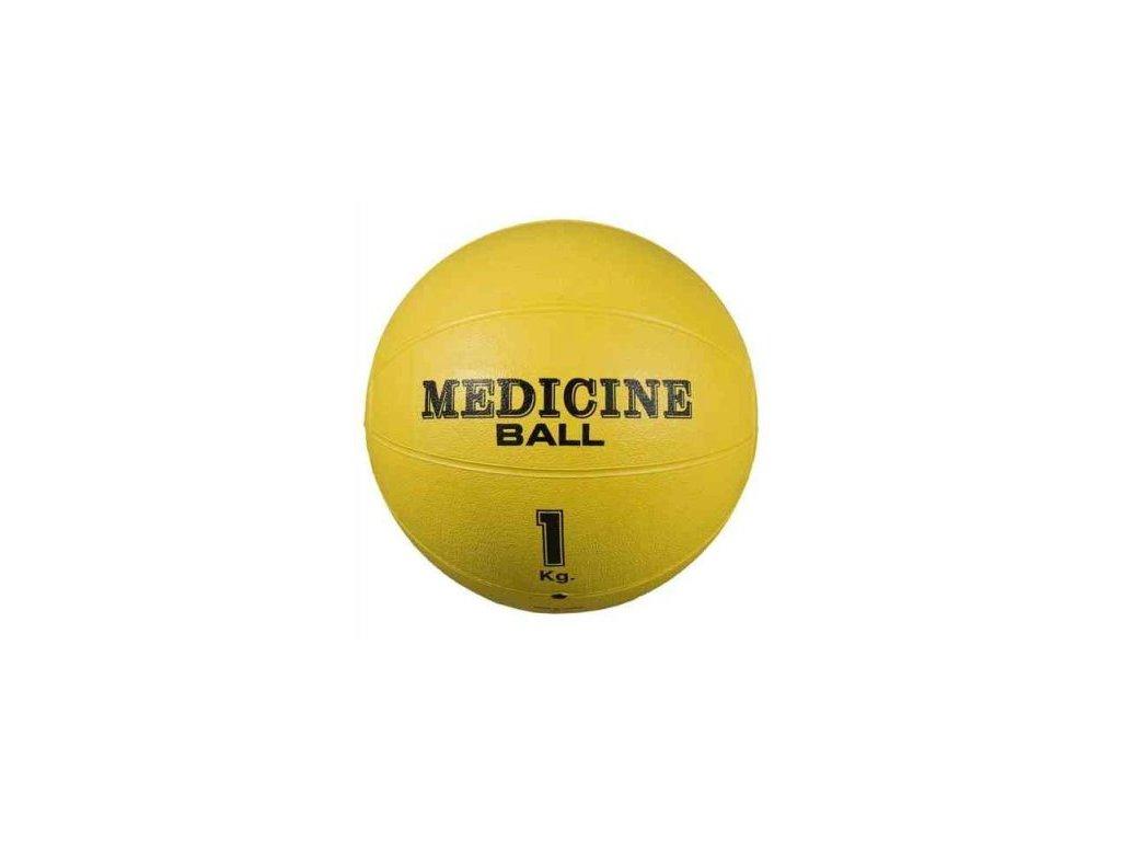 Medicinální míč kožený 3 kg