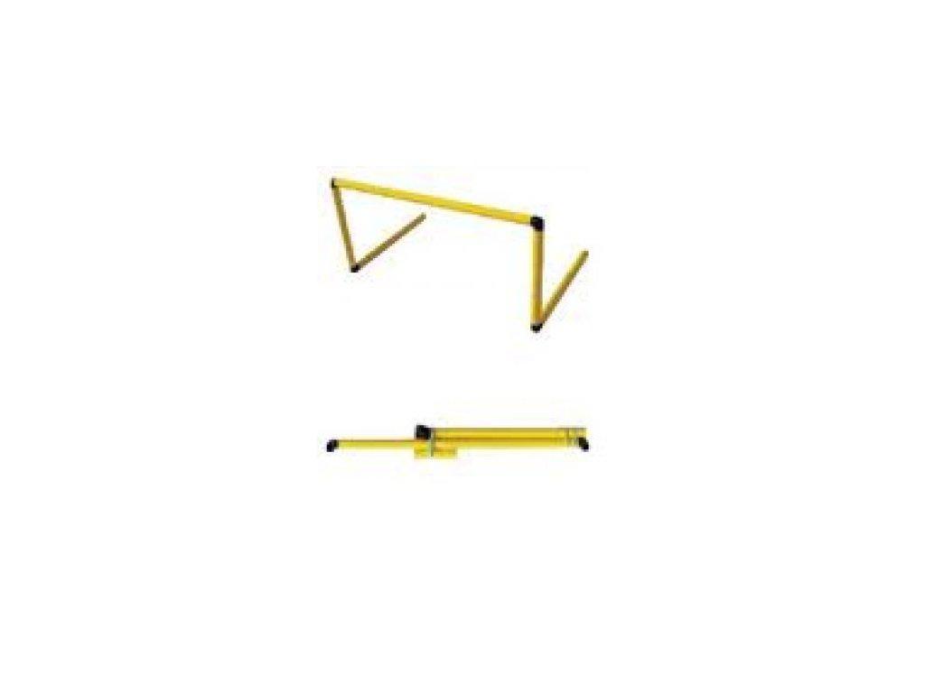Pevná překážka pro přeskok žlutá (Výška 60 cm)