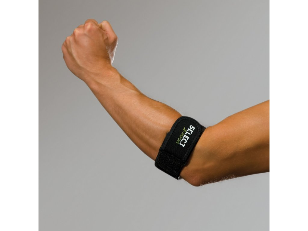 Bandáž lokte Select Tennis elbow caps černá