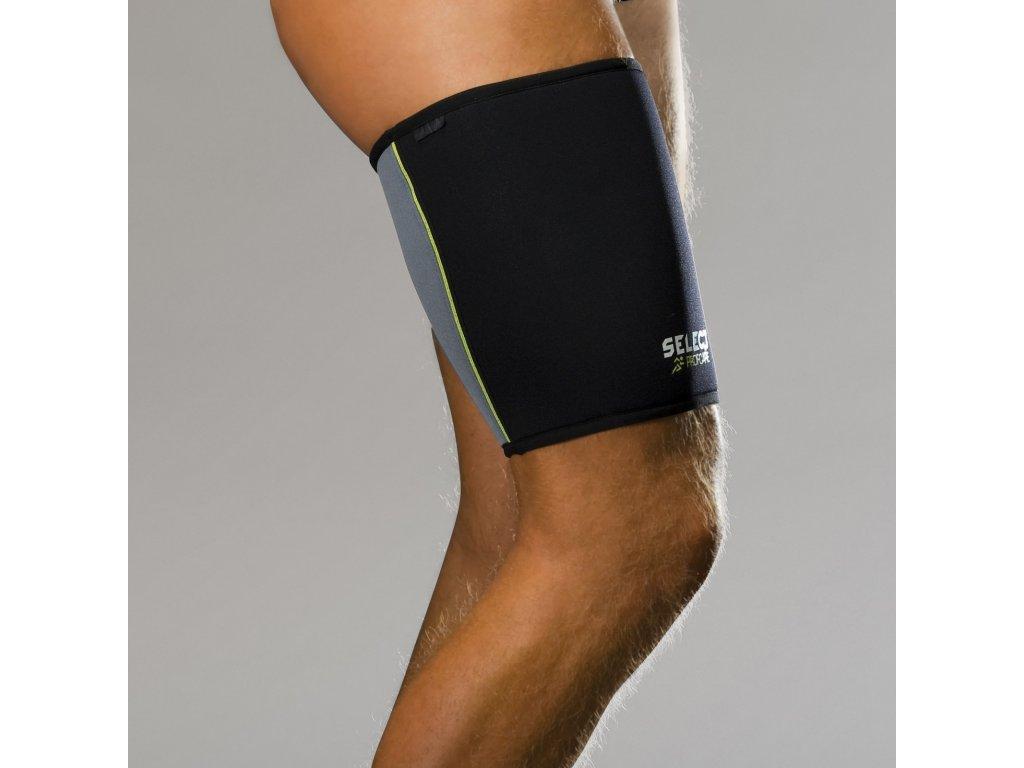 Bandáž stehna Select Thigh support 6300 černá