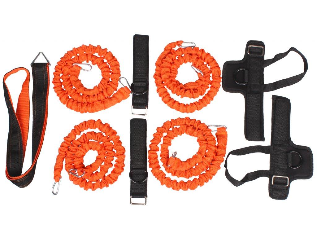 tréninková lana odporové gumy