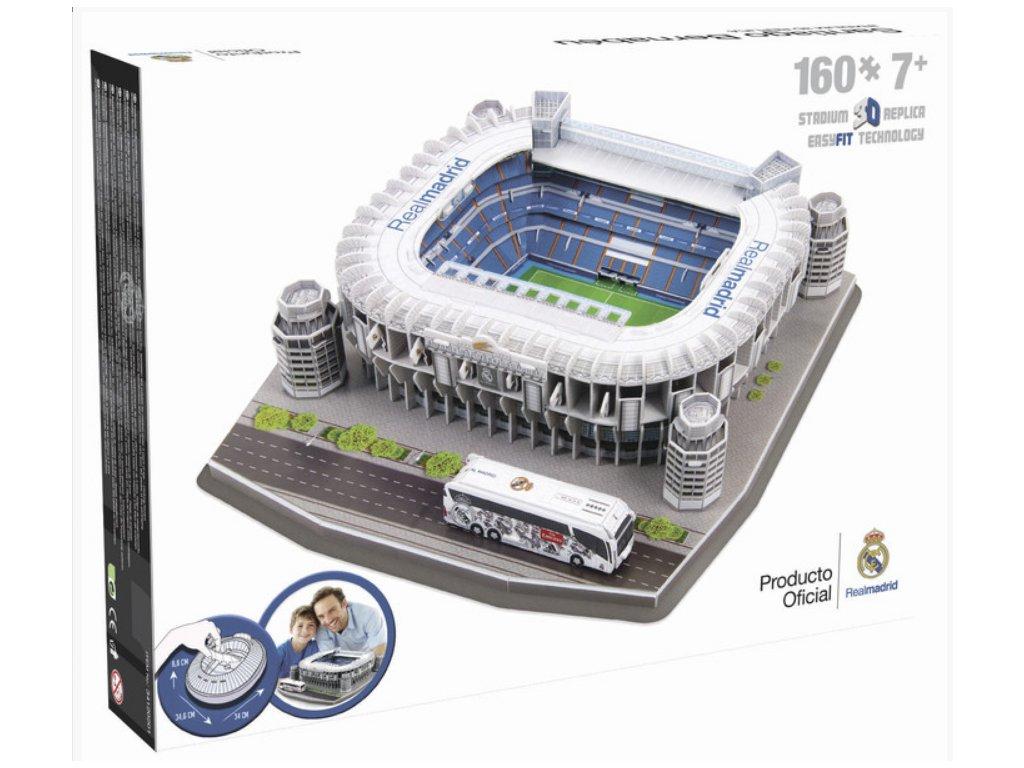3D Puzzle SPAIN Santiago Bernabeu (Real Madrid)