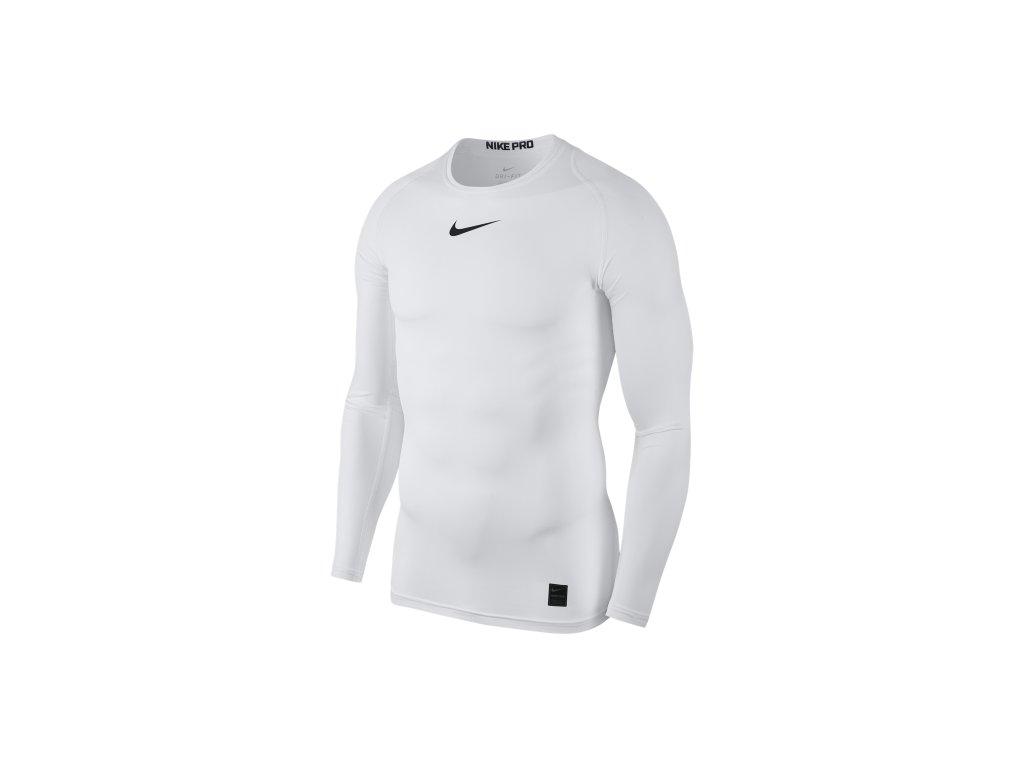 termo tričko Nike Crew bílé