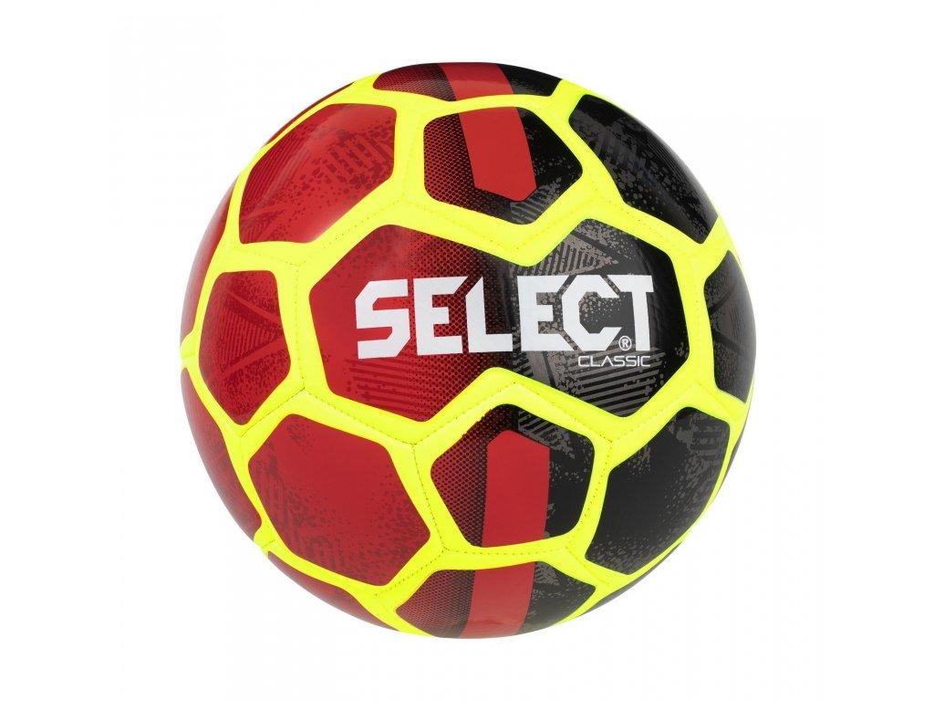 Fotbalový míč Select FB Classic černá,červená