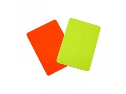 Set červená a žlutá karta