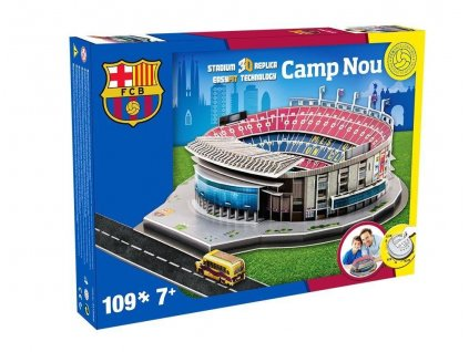 3D PUZZLE SPAIN - Camp Nou (Barcelona)