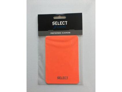 karty pro rozhodčí žlutá a červená