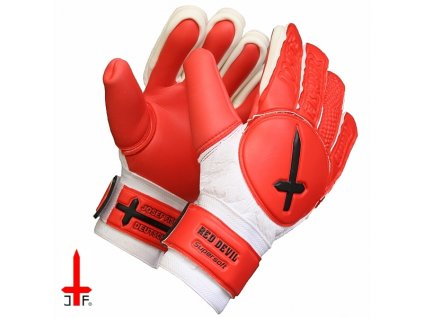 Brankářské rukavice RED DEVIL dětské