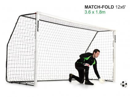 Rozkládací branka Match Goal 3,66x1,83m