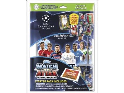 Startovní balení s motivem Match Attax Champion League
