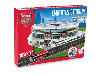 3D Puzzle UK Emirates (Arsenal)
