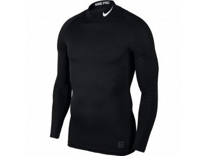 Funkční termo triko s límečkem Nike Pro dlouhý rukáv (3)png