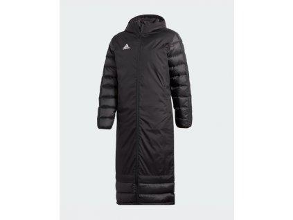 Zimní bunda Adidas černá barva