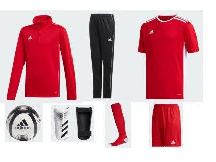 set adidas červená