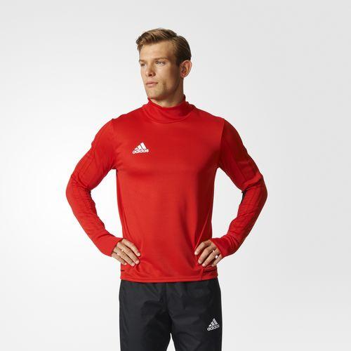 Adidas Mikina TIRO 17 TRAINING Barva: Červená, Velikost: S