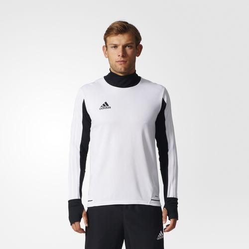 Adidas Mikina TIRO 17 TRAINING Barva: Bílá/černá, Velikost: S