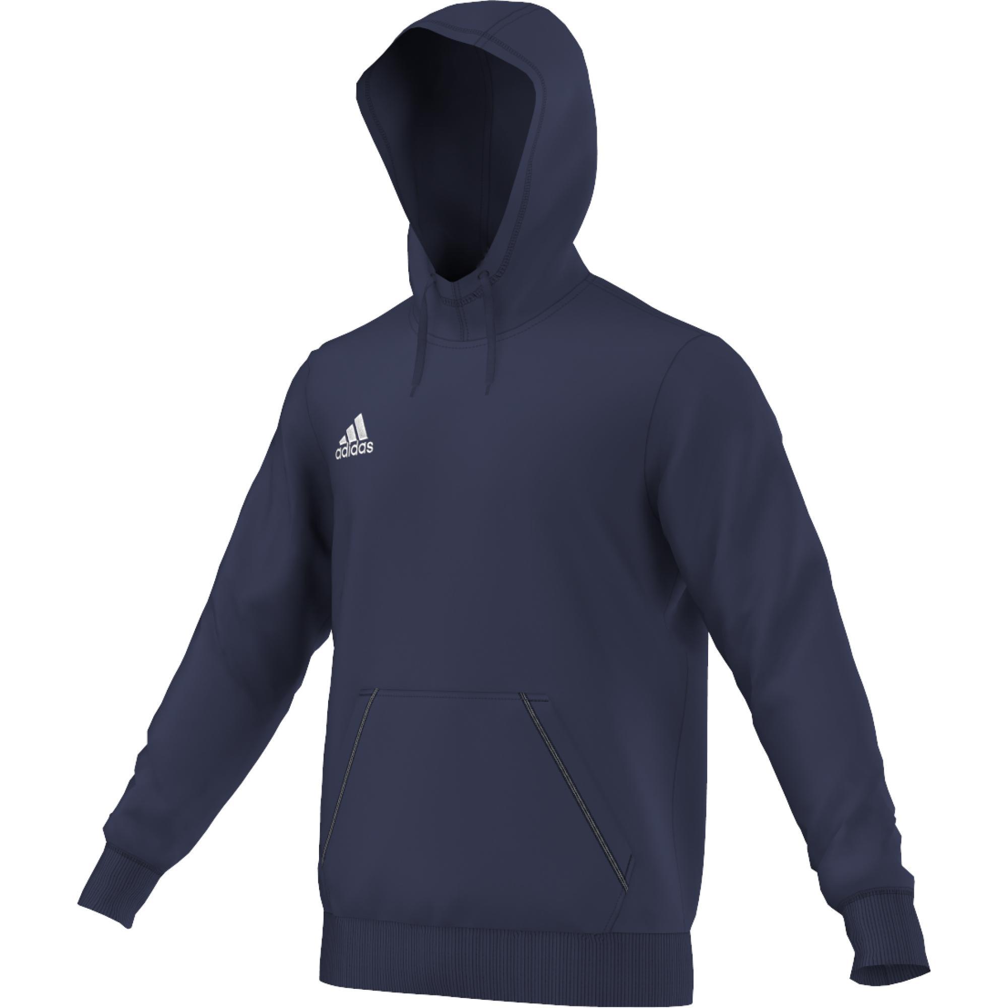 Adidas Mikina Coref HOODY dětská Barva: Modrá, Velikost: 140