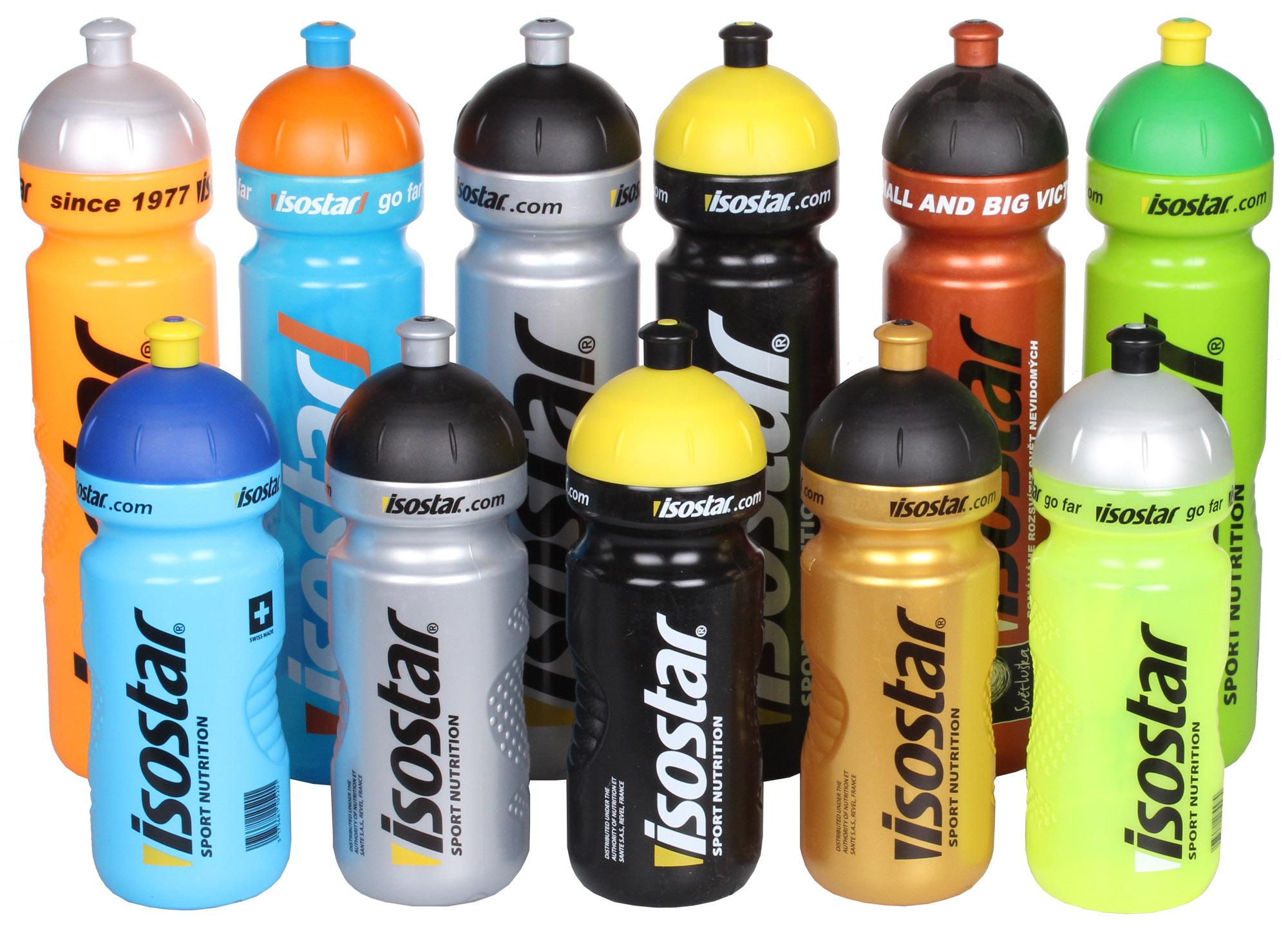 Sportovní láhev Isostar Barva: Modrá, Objem: 650 ml