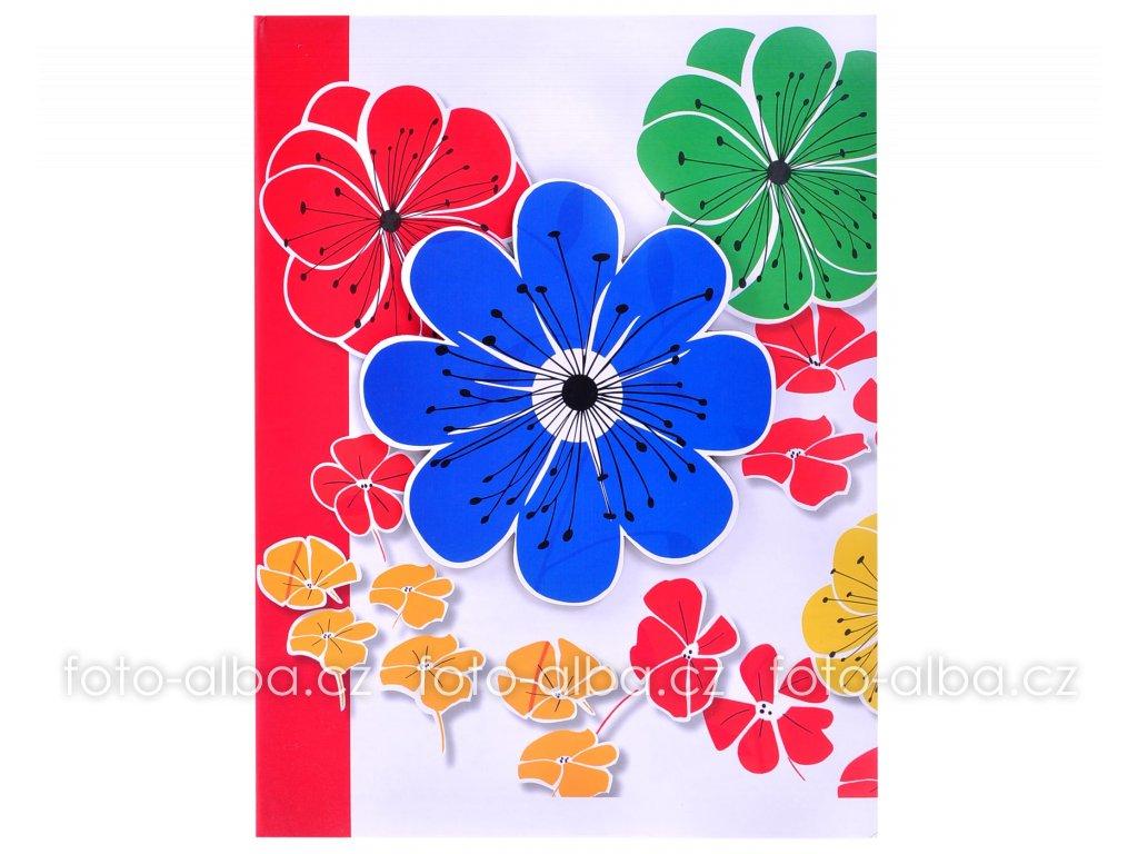 fotoalbum carnival flowers modra