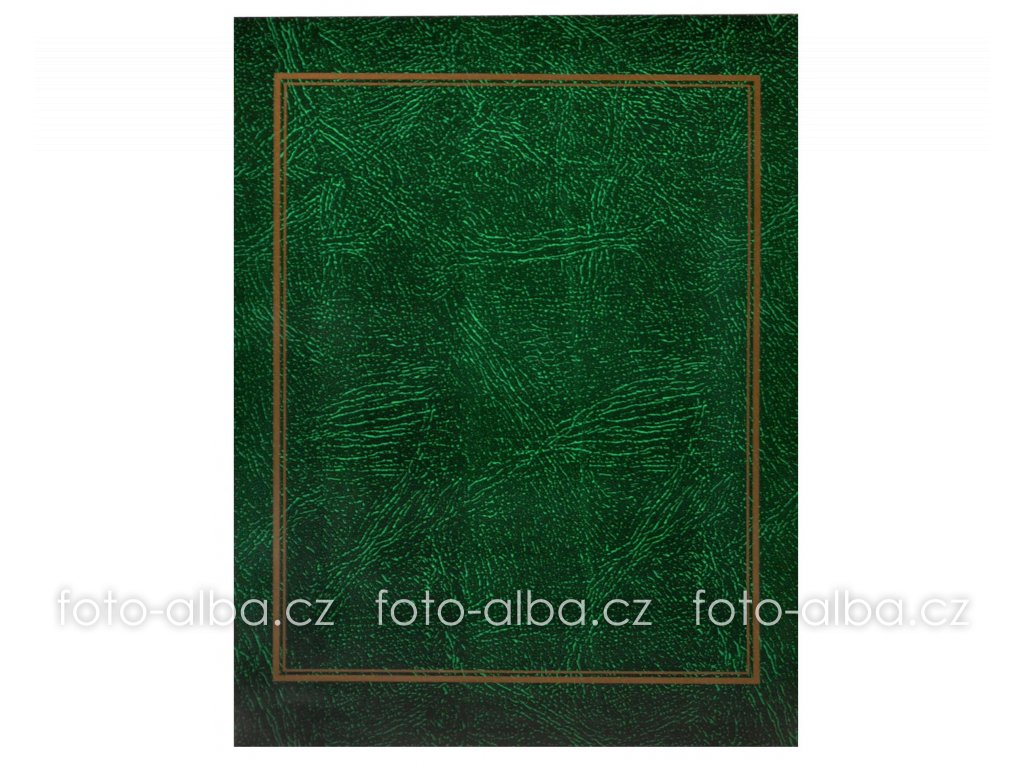 fotoalbum 13x18 zelené