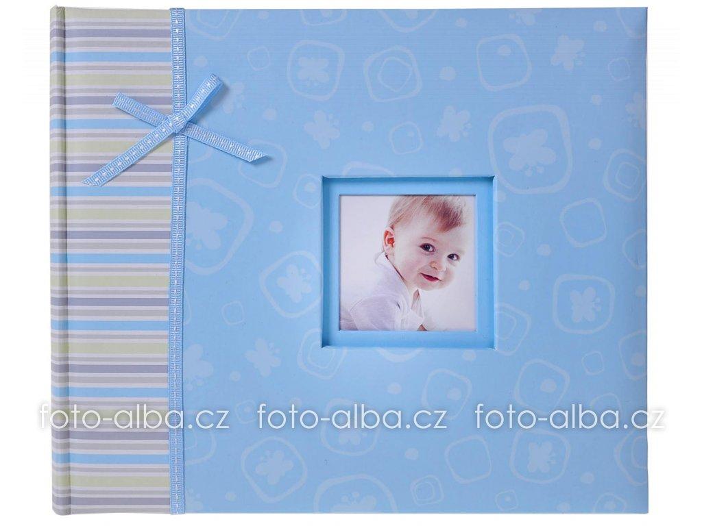 scrapbook album dětské modré