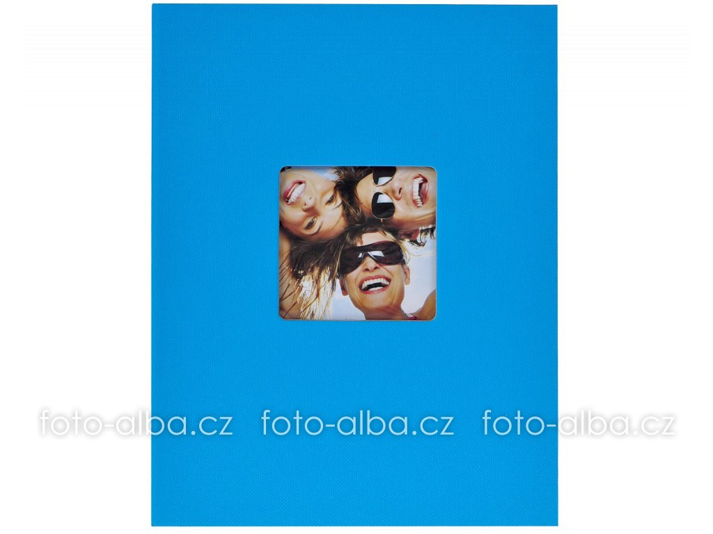 fotoalbum trendy modré 13x18