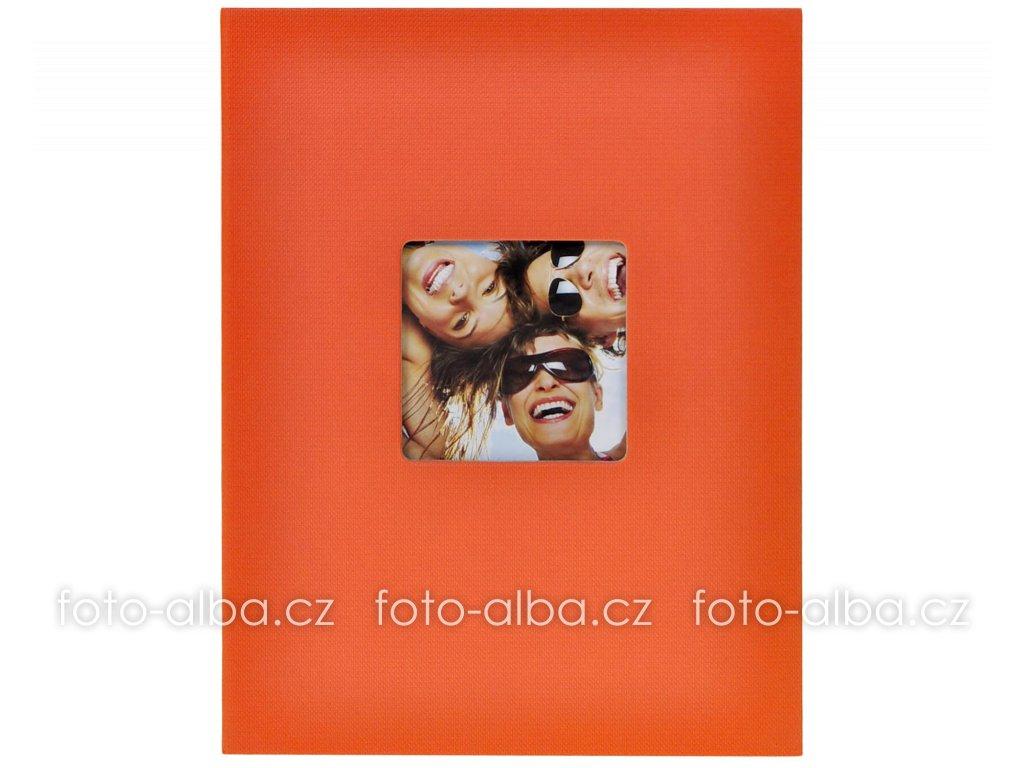 fotoalbum trendy oranžové 13x18