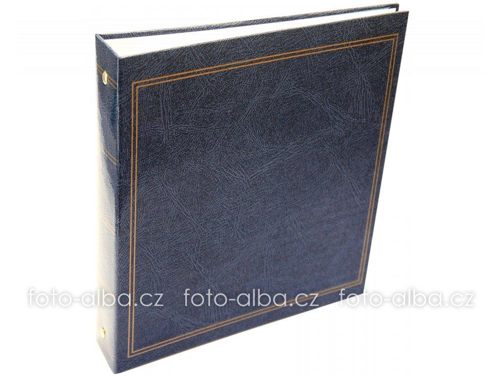 knihovna foto-album modrá