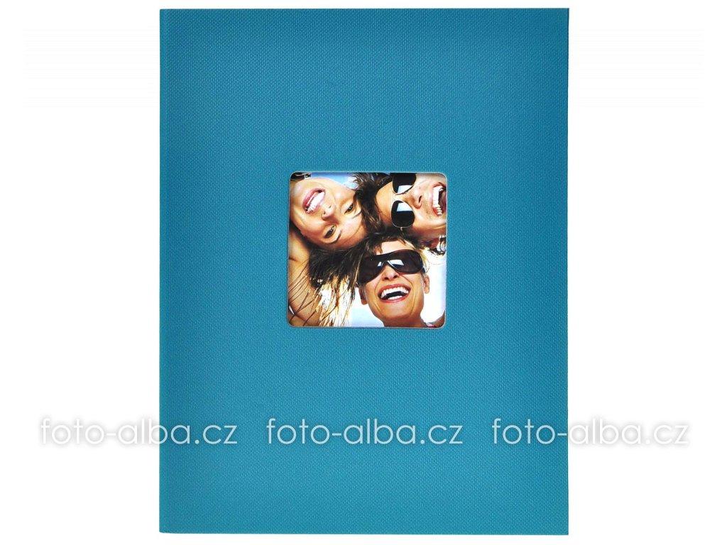 fotoalbum trendy modrošedé 13x18