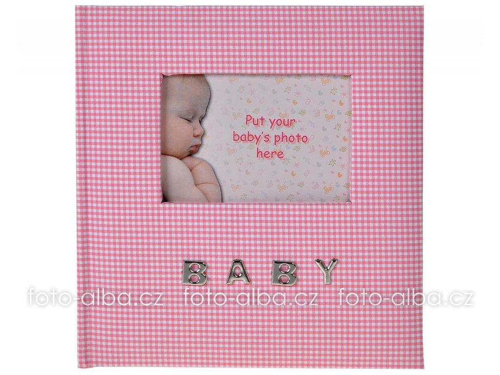 foto-album baby memo růžové
