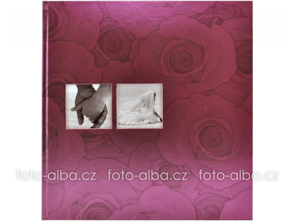 foto-album purpurová růže goldbuch
