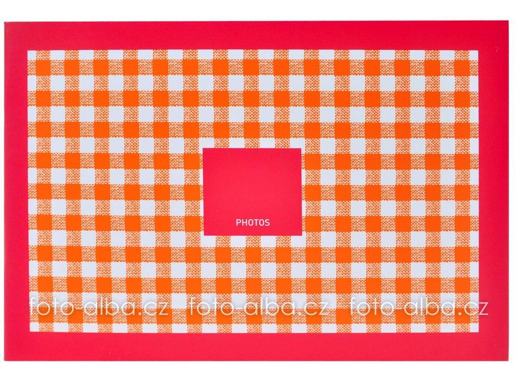 fotoalbum mini kostičky červené goldbuch