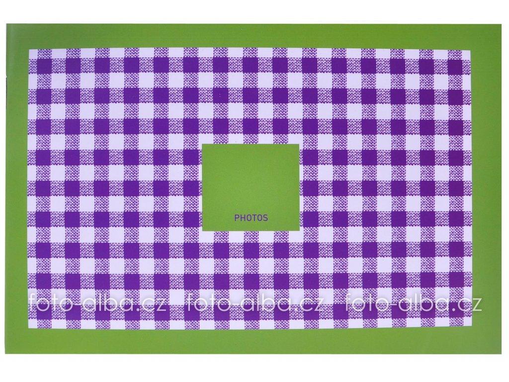 fotoalbum mini kostičky zelené goldbuch